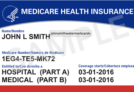 GET YOUR CURRENT MEDICARE CARD NOW!