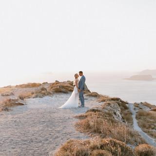 Huwelijk Natallia & Erwin in Santorini