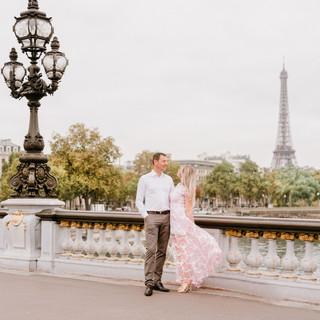 Loveshoot in Parijs Natallia & Erwin