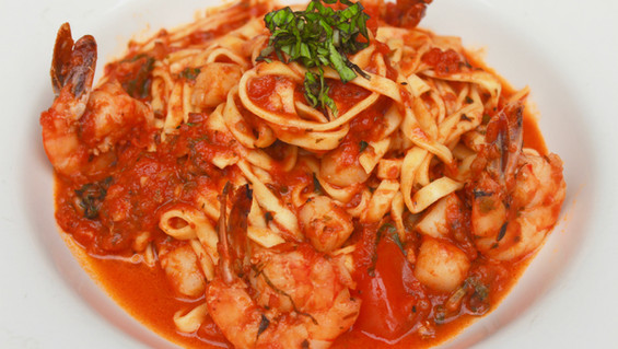 Shrimp and Scallops a la Pomodori
