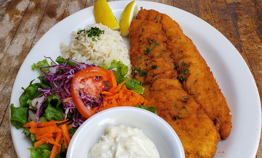 Fish Milanesa