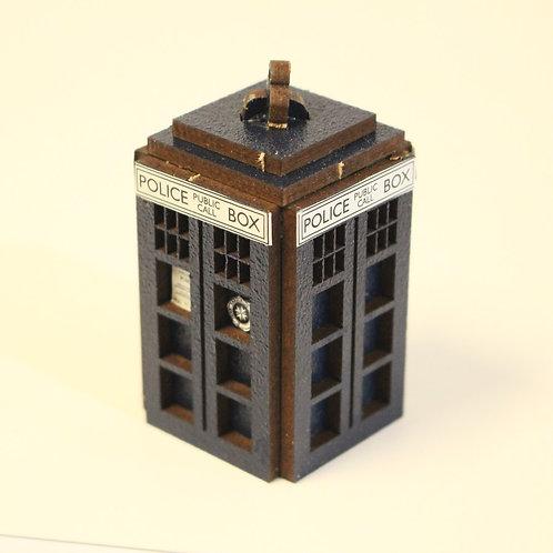 Miniature Police Public Call Box