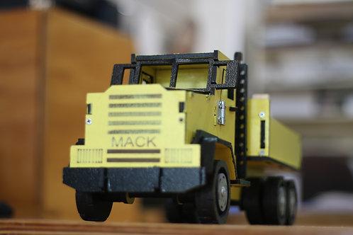 Yellow Mack Truck
