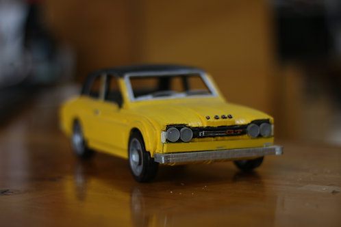 Bright Yellow Ford Cortana