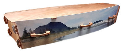 Hope Family Funeral Services exclusive Mount Maunganui casket coffin burial cremation beach