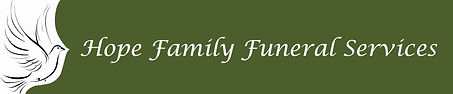 Hope Family Funeral Services Home Logo