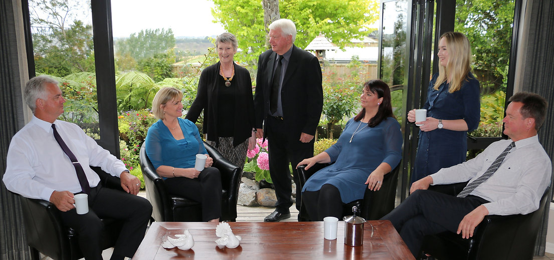 Hope Family Funeral Services Team Ricky Hope Tony Hope Kathy Sleep Richard and Dorothy Hope Shelley Dudson Alex Hope