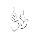 Hope Family Funeral Services Dove Logo