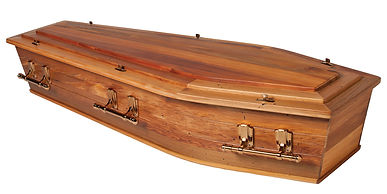 Hope Family Funeral Services Recycled Native Timber casket coffin