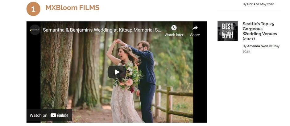 Top 10 Wedding Videographers in Seattle, WA (2021)