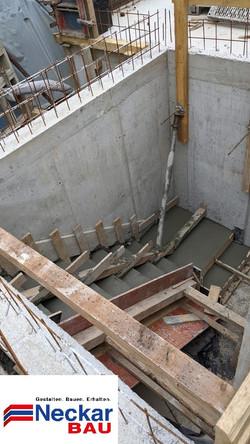 Treppen Schalung