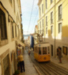 Tramway à Bica, Lisbonne