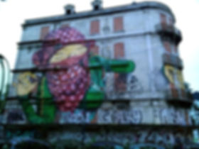 Street art Lisbonne : Crono Project