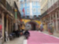 La Pink Street de Cais do Sodre