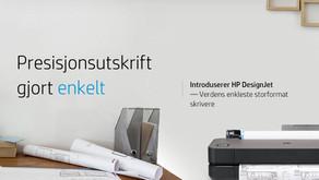 Si hei til den nye HP DesignJet-familien