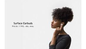 Surface EarBuds, gjør mer med mindre.