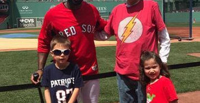 A Day at the Red Sox!!!!