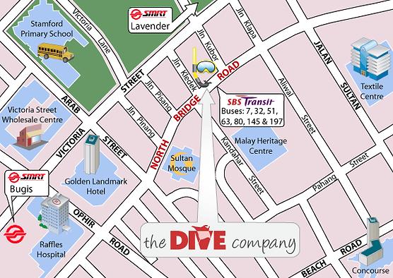 scuba diving singapore, dive shop singapore, diving singapore