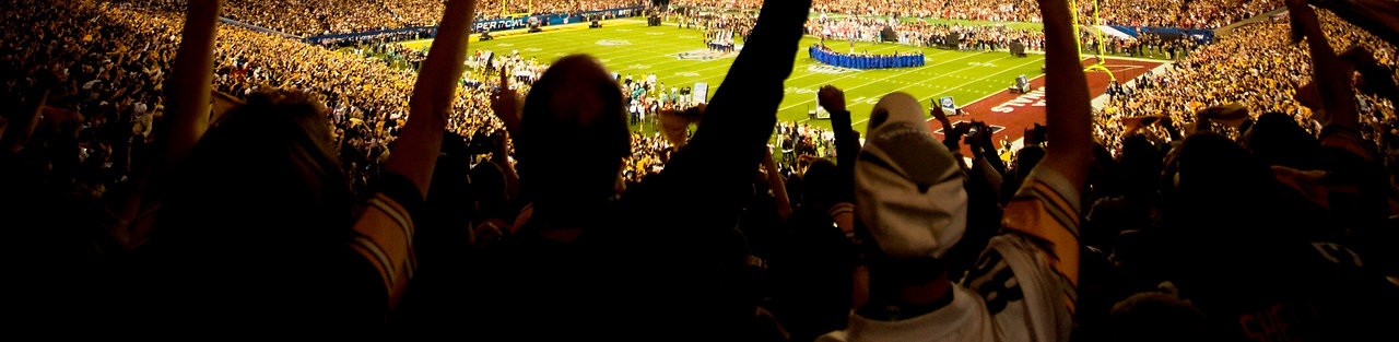 Fans cheering