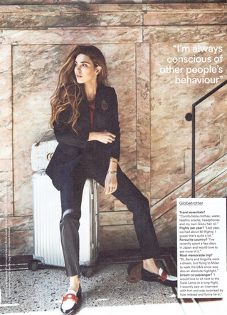 Negin Mirsalehi in Holland Herald