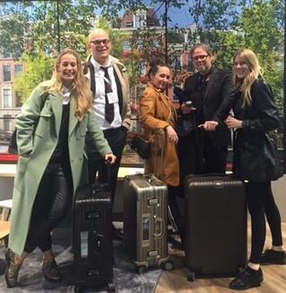 RIMOWA and Materna's world bag drop tour