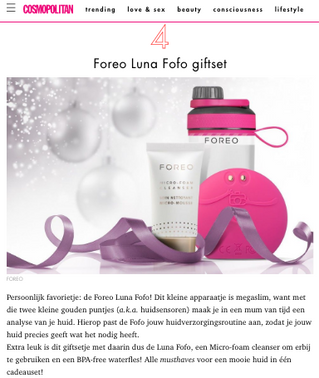 Ho,ho,ho, it is time to Glow with FOREO