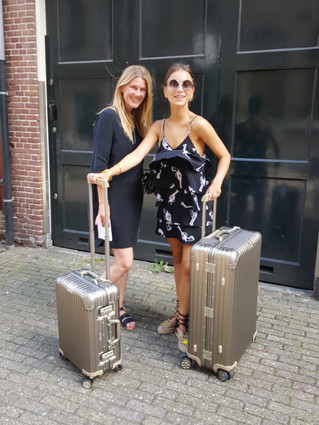 RIMOWA starts cooperation with Lizzy van der Ligt. Setting up their ambassador program in the Nether