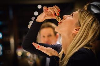 Tasting of HATT et SÖNER Champagne. During the tasting everybody could discover their own taste pref