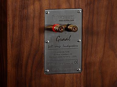 Graal full range speakers connectors clo
