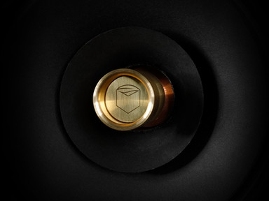 Graal full range speaker driver closeup.