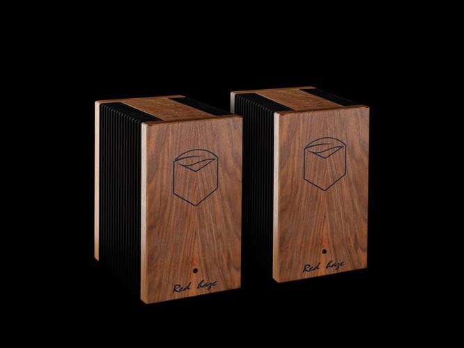 Red Haze monoblock power amplifiers