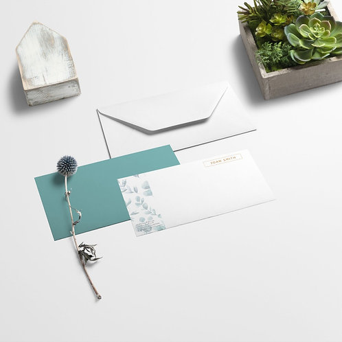 Compliment Slips and Envelopes Design & Print | High Quality Paper