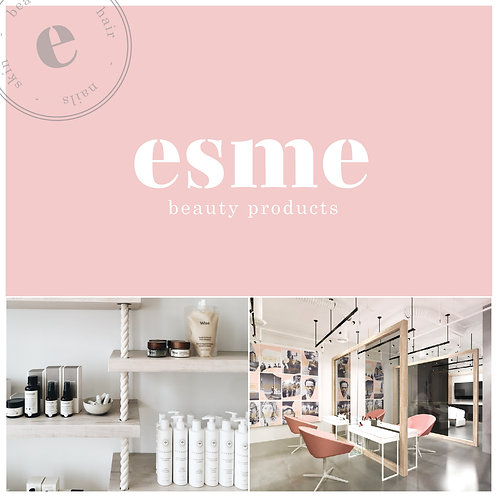 Premade Branding Package for Beauty Product, Salon, Hairdresser