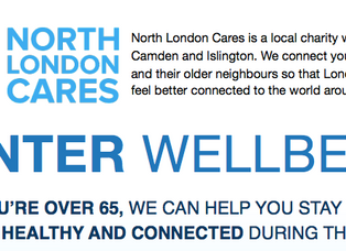 Winter Wellness project – Camden and Islington