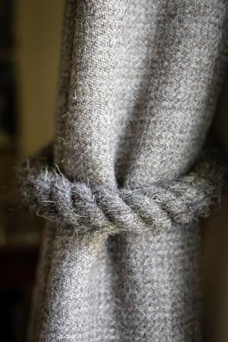 Charlotte Chaplin Herdwick Tweed Curtain Tie-Back