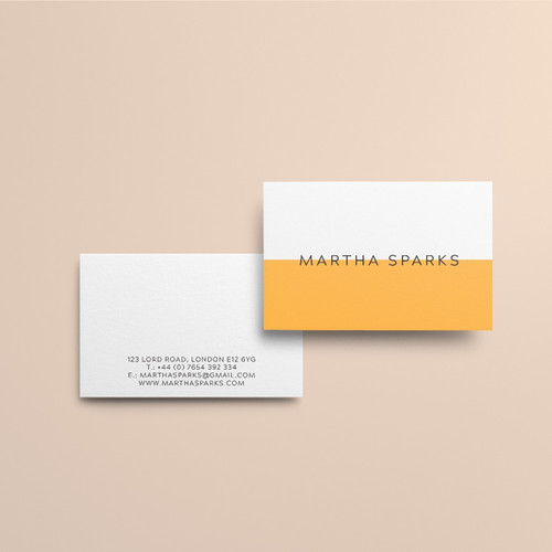 Print tailors business cards minimal business cards high quality paper custom design reheart Choice Image