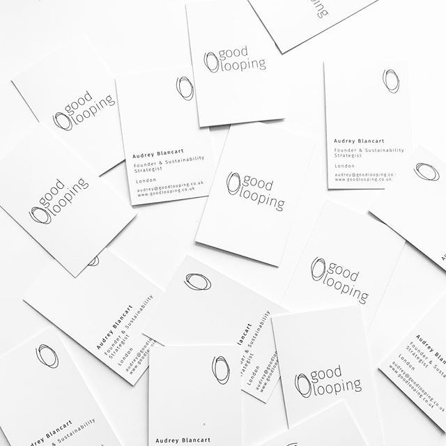 #businesscards for _goodlooping - Sustai