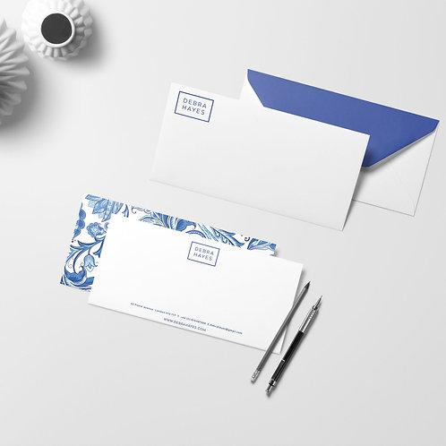 Portuguese Tiles Compliment Slips | High Quality Paper | Custom Design