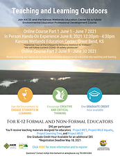 Teaching and Learning Outdoors June 2021