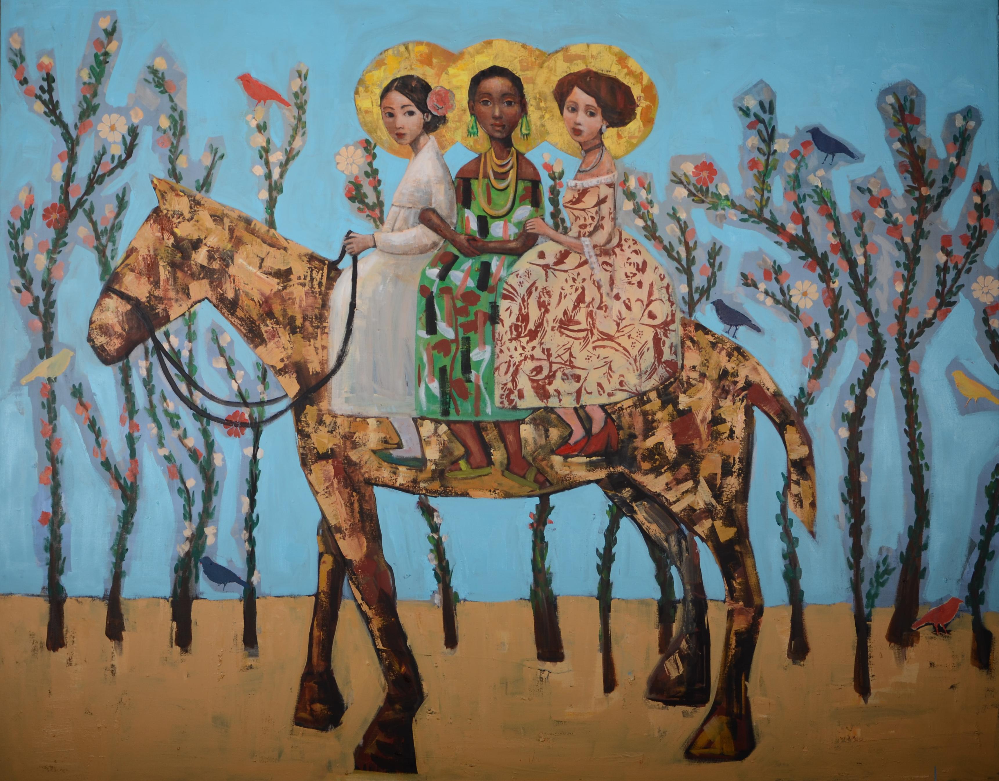Good Ladies (48x60) oil on canvas 2020