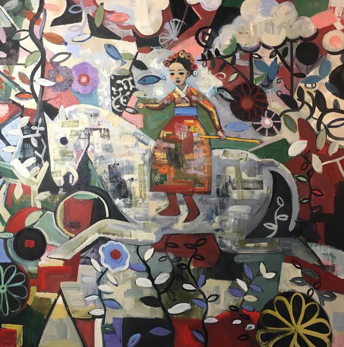Affordable Art Fair Hampstead London 2019