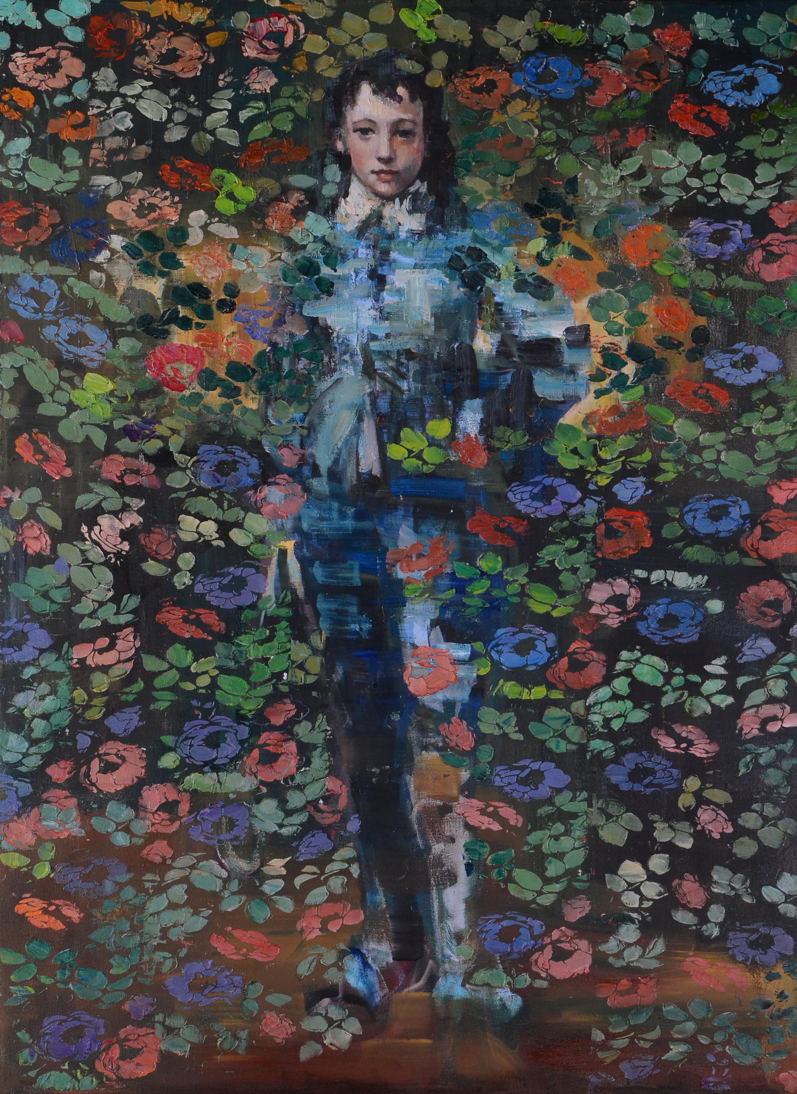Blue Boy (40x30) oil on canvas 2020