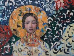 Forgotten Sun (18x24) oil on canvas 2020