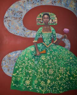 Joy of Beauty (60x48) oil on canvas 2021