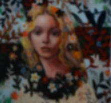 Jewel Box 2 Beauty (12x12) mixed media o