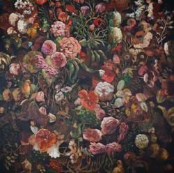 Garden of Life (60x60) oil on canvas 201
