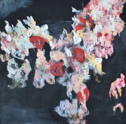 Mind Flower (36x36) oil on canvas 2018