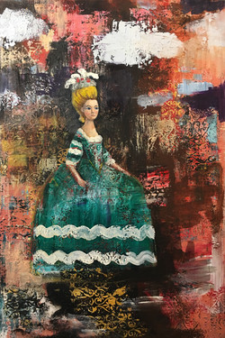 Decorative Life (36x24) oil on canvas 20