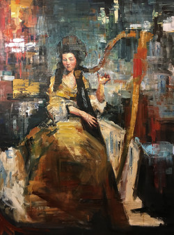 Sound of New Era (48x36) oil on canvas 2