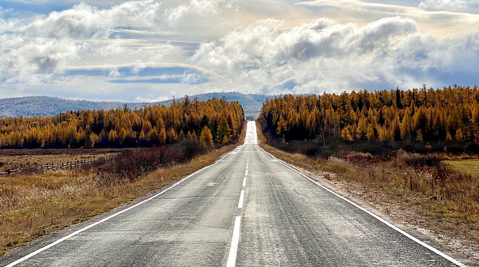Road on Baikal